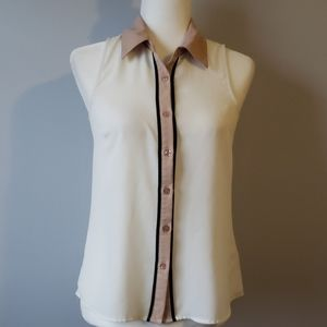 Anthropologie Coincidence &Chance Blouse size XS
